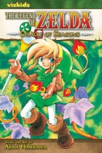 Oracle of Seasons Manga Cover