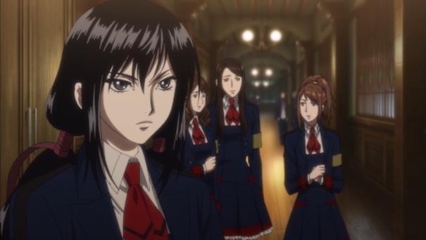 Blood-C Saya schoolgirl