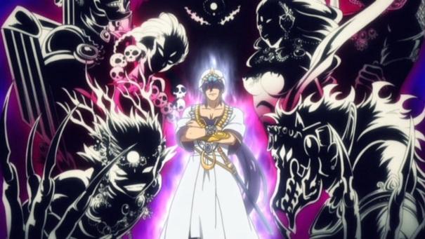 Magi: The Labyrinth of Magic Sinbad's Djinn
