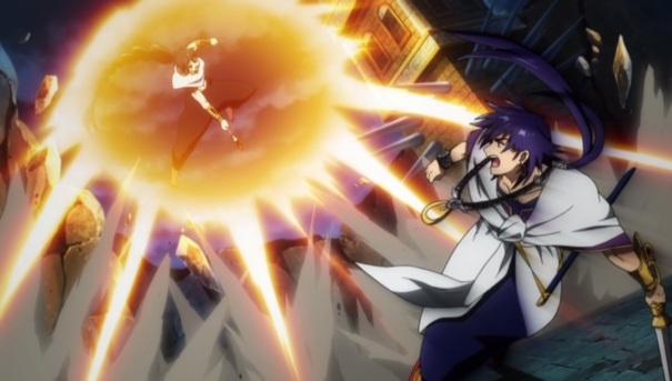 Magi: The Labyrinth of Magic Magic Battle