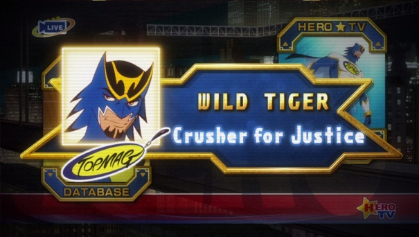 Tiger & Bunny- The Beginning 02 Wild Tiger