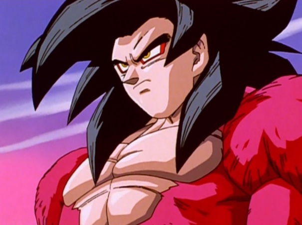Dragon Ball GT 01 Goku Super Saiyan 4