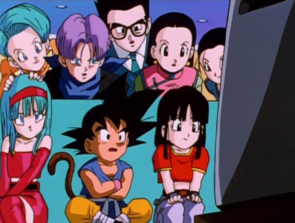 Dragon Ball GT 07 Z fighters