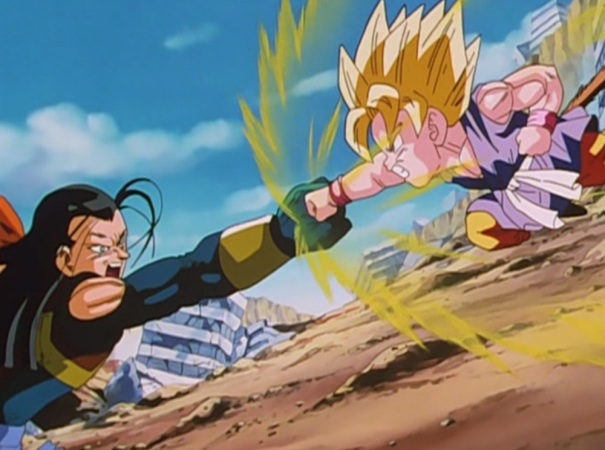 Dragon Ball GT 10 Goku Super Android 17