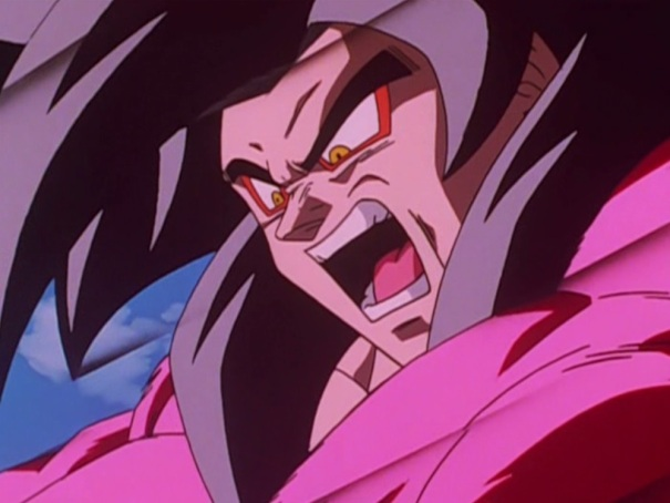 Dragon Ball GT 11 Goku Super Saiyan 4