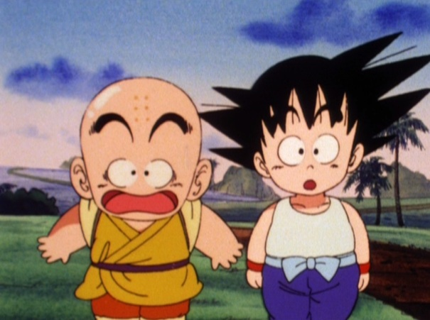 Dragon Ball 11 Krillin Goku