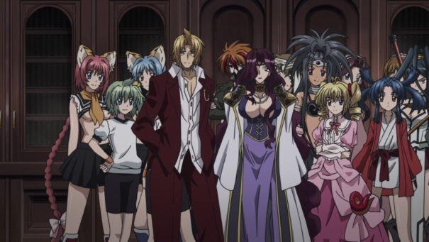 High School DxD 26 Raiser harem