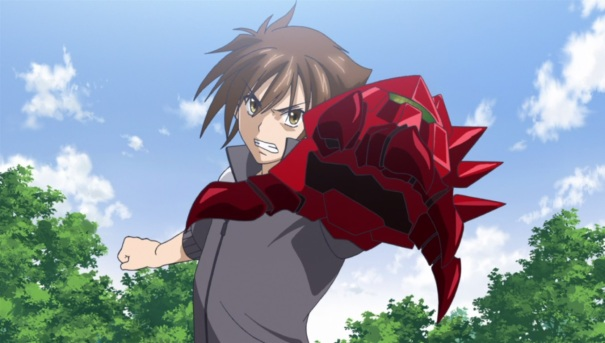 High School DxD 31 Issei boosted gear