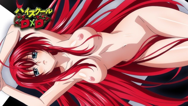 High School DxD 37 Rias pinup