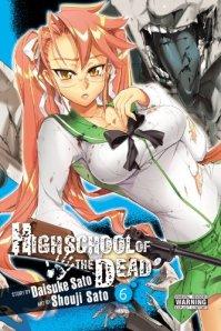 High School of the Dead Cover 6 Saya Takagi
