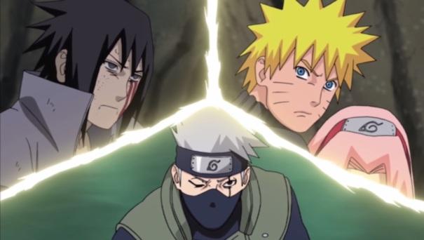 Naruto Shippuden Collection 17 09 Sasuke Uchiha Kakashi Naruto Uzumaki
