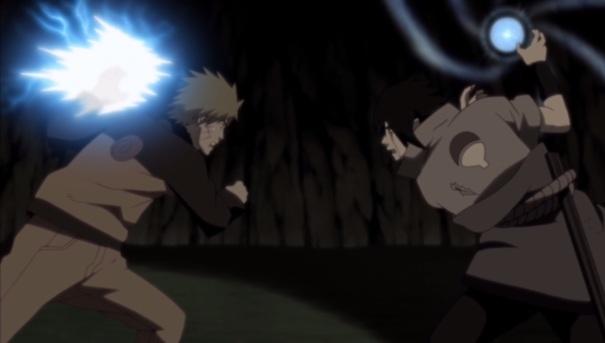 Naruto Shippuden Collection 17 10 Sasuke Naruto roles reversed
