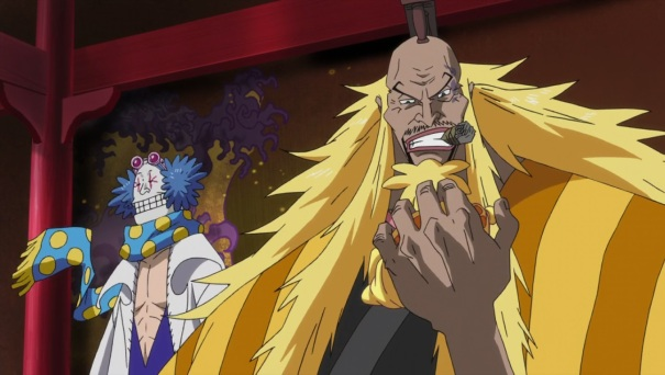 One Piece Movie 10 Strong World 05 Shiki Golden Lion Dr Indigo