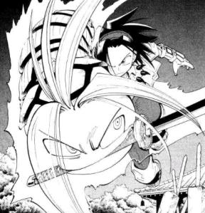 Shaman King vol 9_16 (1) Yoh Asakura Amidamaru