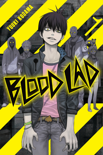 Blood Lad manga cover volume 01