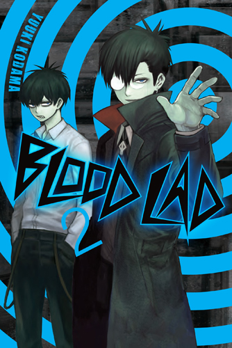 Blood Lad manga cover volume 02