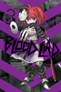 Blood Lad manga cover volume 03