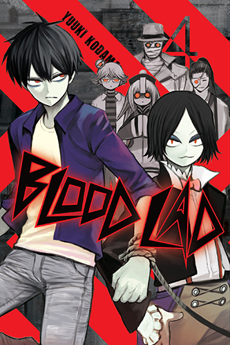 Blood Lad manga cover volume 04