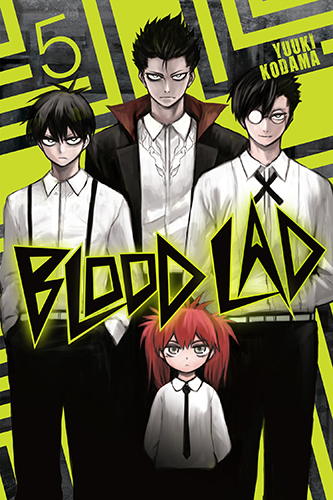 Blood Lad manga volume 05