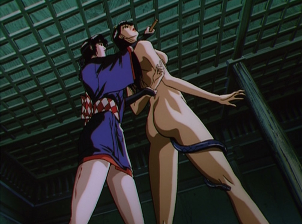 Commit error. Ninja scroll nude scenes apologise, but