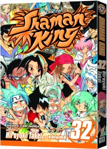Shaman King 32 cover