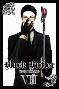 Black Butler manga cover 8