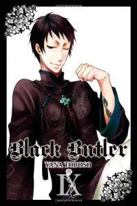 Black Butler manga cover 9