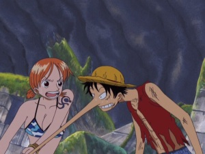 One Piece Collection 07 16 Nami Luffy Skypiea