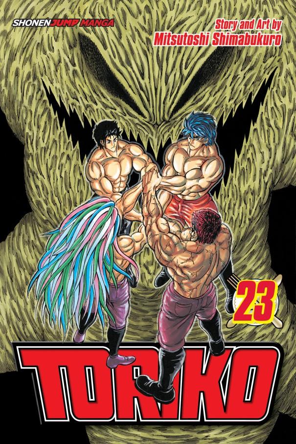 Toriko manga Volume 23 cover