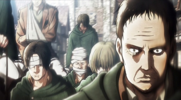 Attack on Titan Shingeki no Kyojin Part 01 04 Scout troops