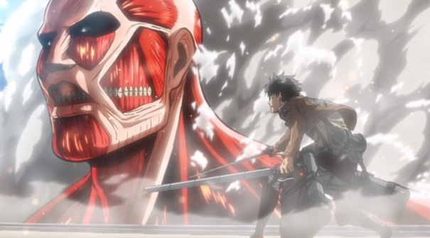 Attack on Titan Shingeki no Kyojin Part 01 08 Colossal Titan Eren