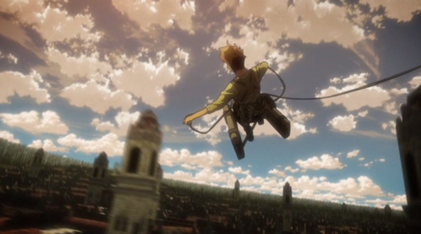 Attack on Titan Shingeki no Kyojin Part 01 17 Omni Directional Gear