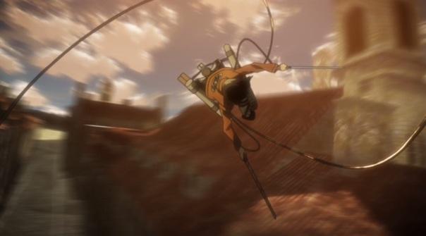 Attack on Titan Shingeki no Kyojin Part 01 18 Omni Directional Gear