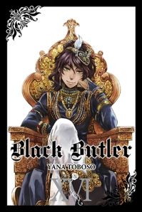 Black Butler manga cover volume 16