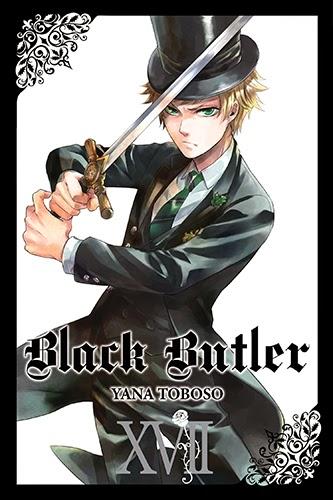 Black Butler manga cover volume 17