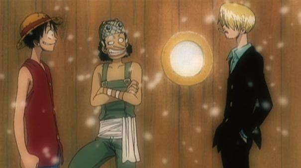 One Piece movie 4 Dead End Adventiure 03 Luffy Usopp Sanji