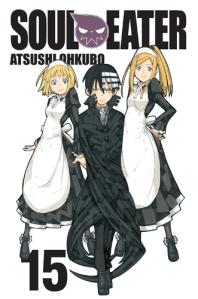 Soul Eater 15 manga cover