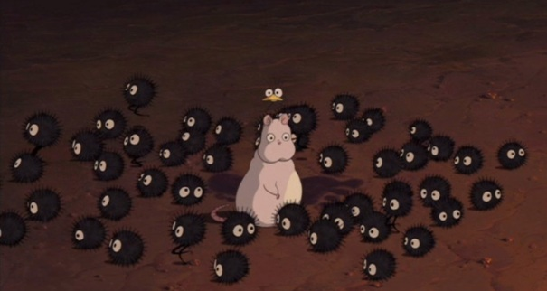 Spirited Away 10 mouse fly soot balls
