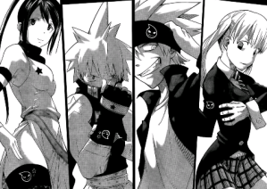 Soul Eater manga volumes 21_22 (7) Tsubaki Black Star Soul Eater Maka