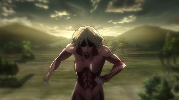 Attack on Titan Part 02 04 abnormal female titan
