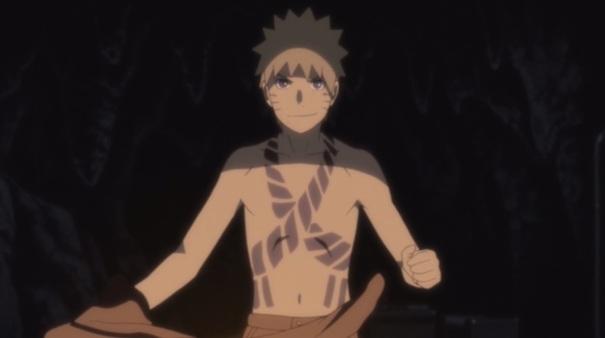 Naruto Shippuden Movie 05 Blood Prison 09 Naruto Uzumaki seal