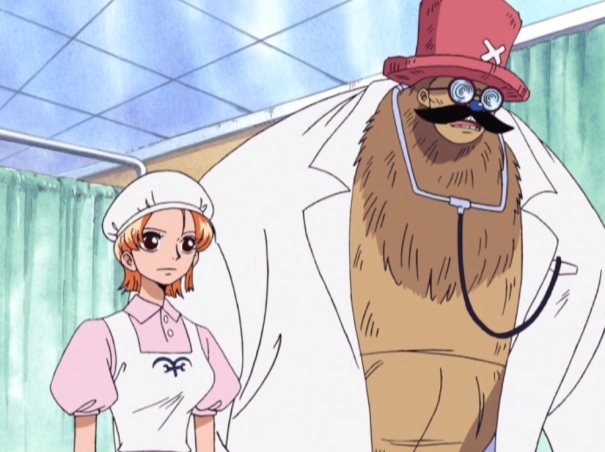 One Piece Collection 08 11 Nami Tony Chopper undercover marine doctor nurse