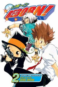 Katekyo Hitman Reborn! volume 2 cover
