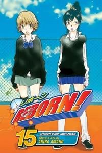 Katekyo Hitman Reborn manga 15 cover