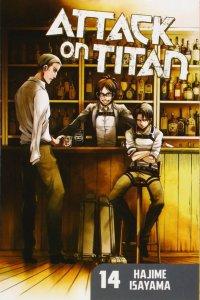 Attack on titan 14 manga cover