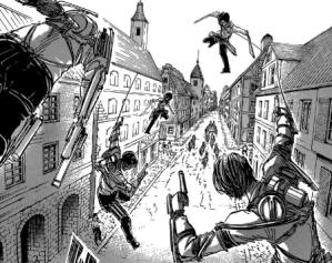 Attack on Titan manga Volume 14 (7)