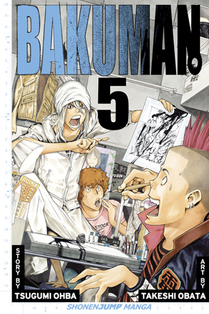 Bakuman manga Volume 05 cover