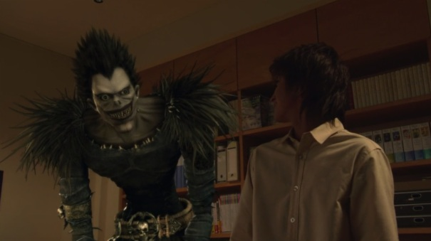 Death Note Live Action 05 Light Yagami Ryuk Shinigami
