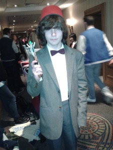 Jordan as The Doctor (11) Anime Dublin