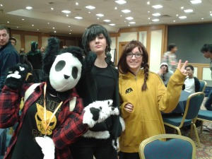 Pictured- Karen Niamh and Erika Anime Dublin